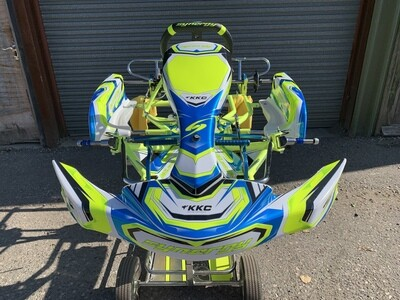 Synergy Carbon Fluro Edition Honda Cadet Rolling Chassis