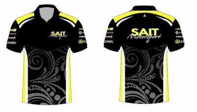 SAIT Motorsport Team Polo Shirt