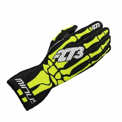 Minus 273 Skeletal Karting Gloves