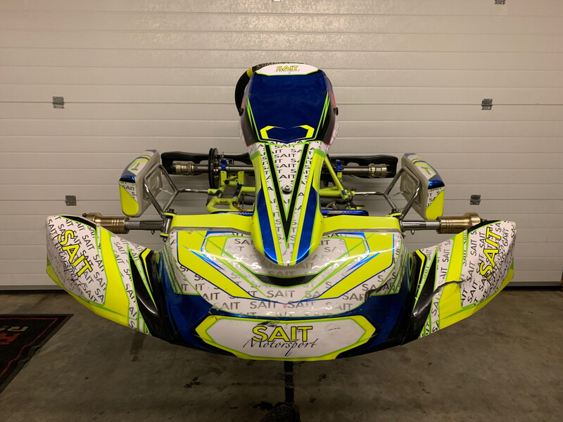 Used Compkart Covert 3.0-R20 Rolling Chassis
