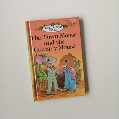 The Town Mouse and Country Mouse Notebook