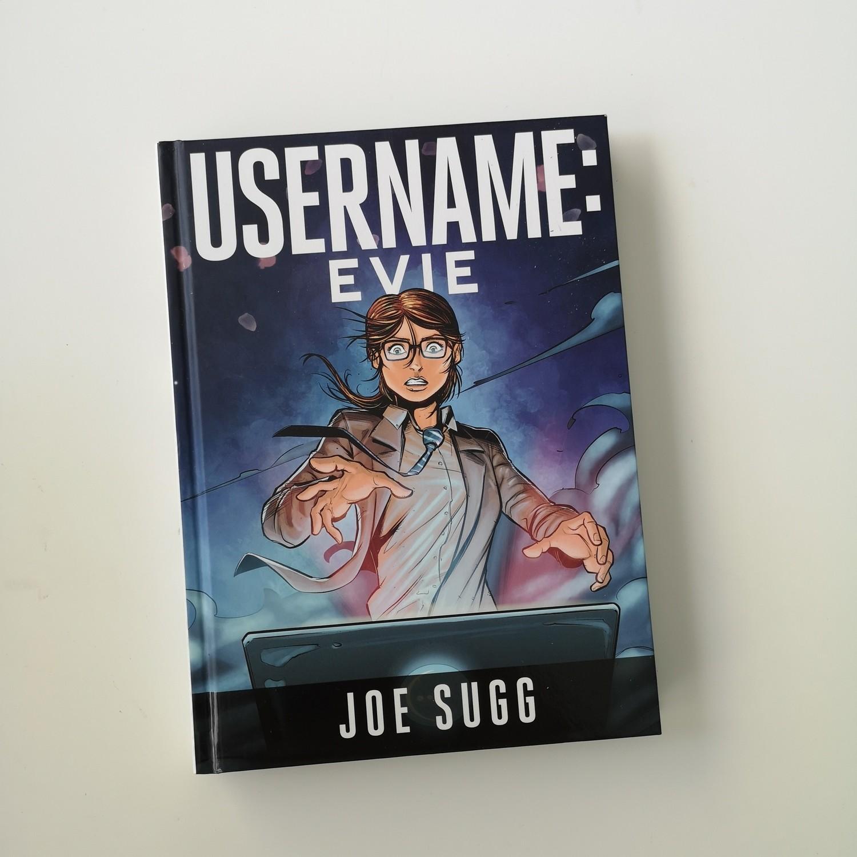 Username: Evie by Joe Sugg Notebook
