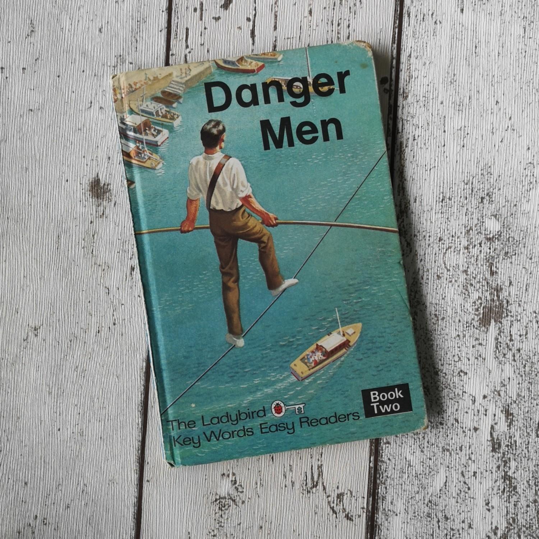 Danger Men Notebook - Ladybird book