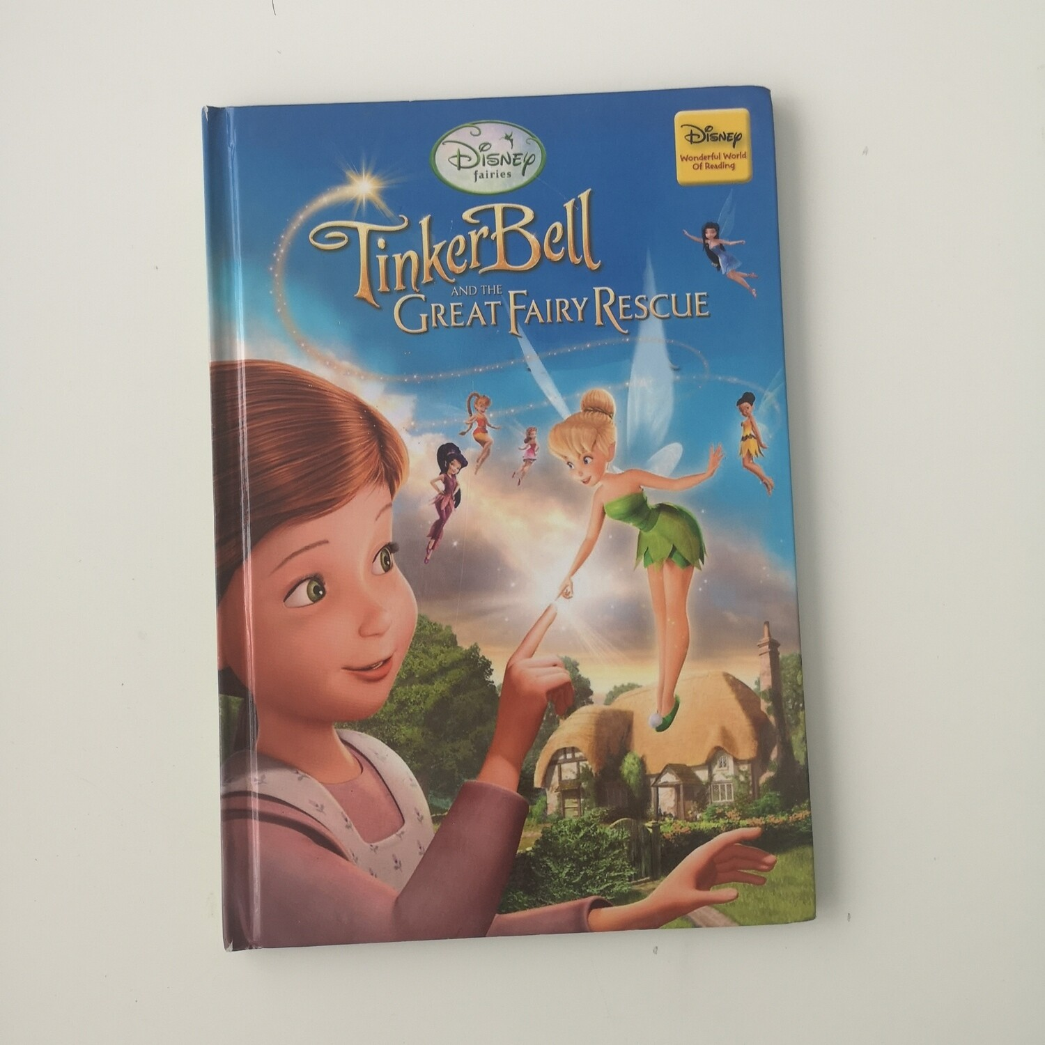 Tinkerbell Notebook - Fairy Rescue