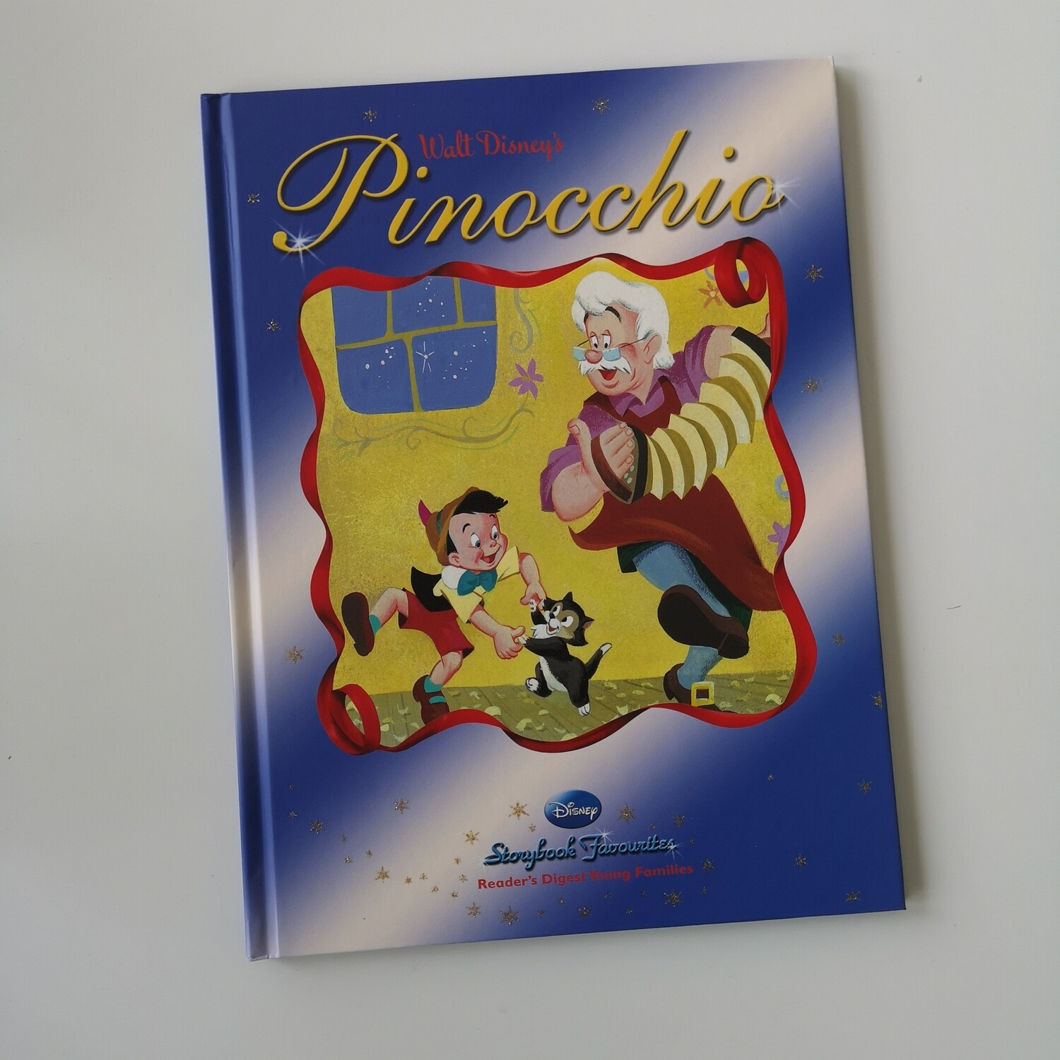 Pinocchio A4 notebook