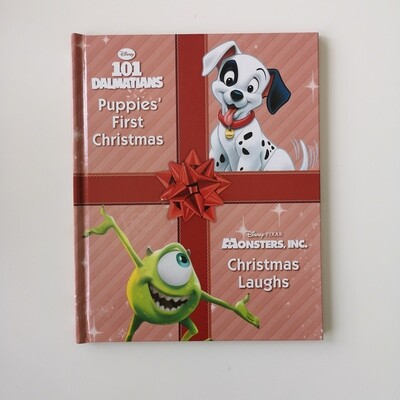 Disney Christmas 101 Dalmatians & Monsters Inc / Pinocchio & Bambi Notebook - no original book pages