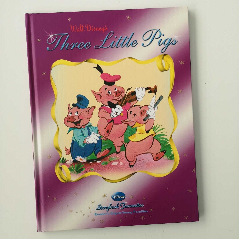 Three Little Pigs A4 notebook