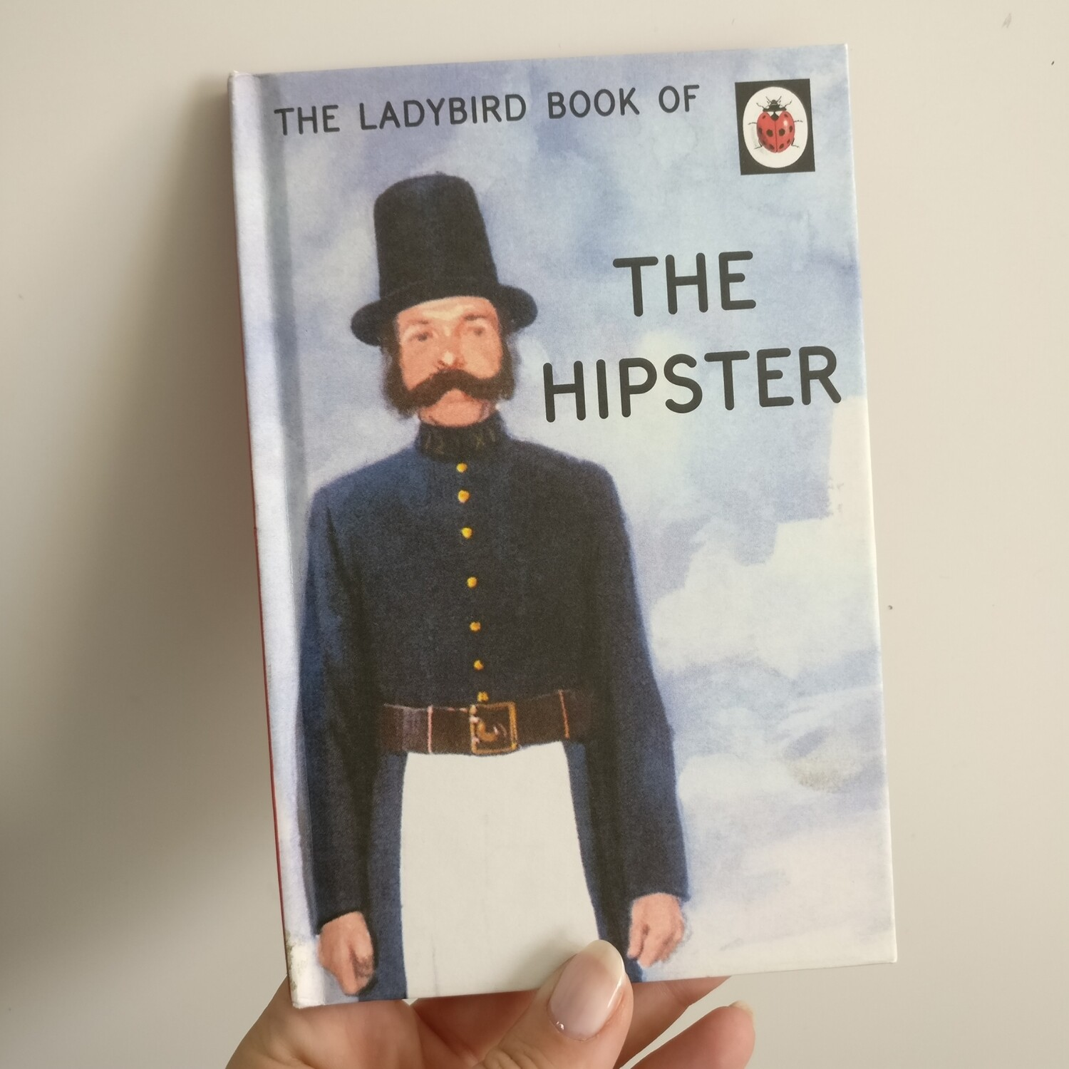 The Hipster Notebook - Ladybird book -  victorian police, books for grown ups