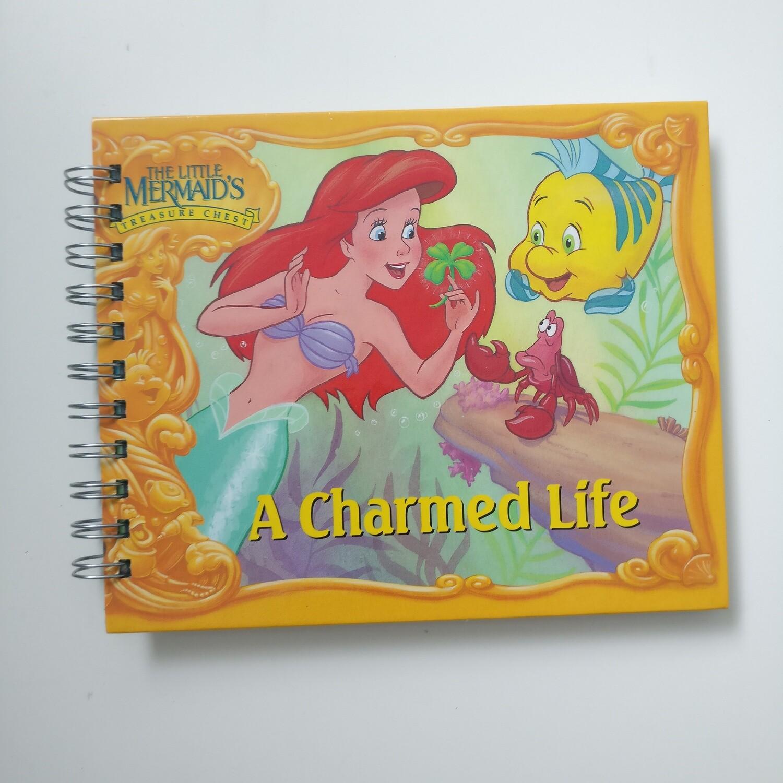 Little Mermaid Notebook - READY TO SHIP : plain