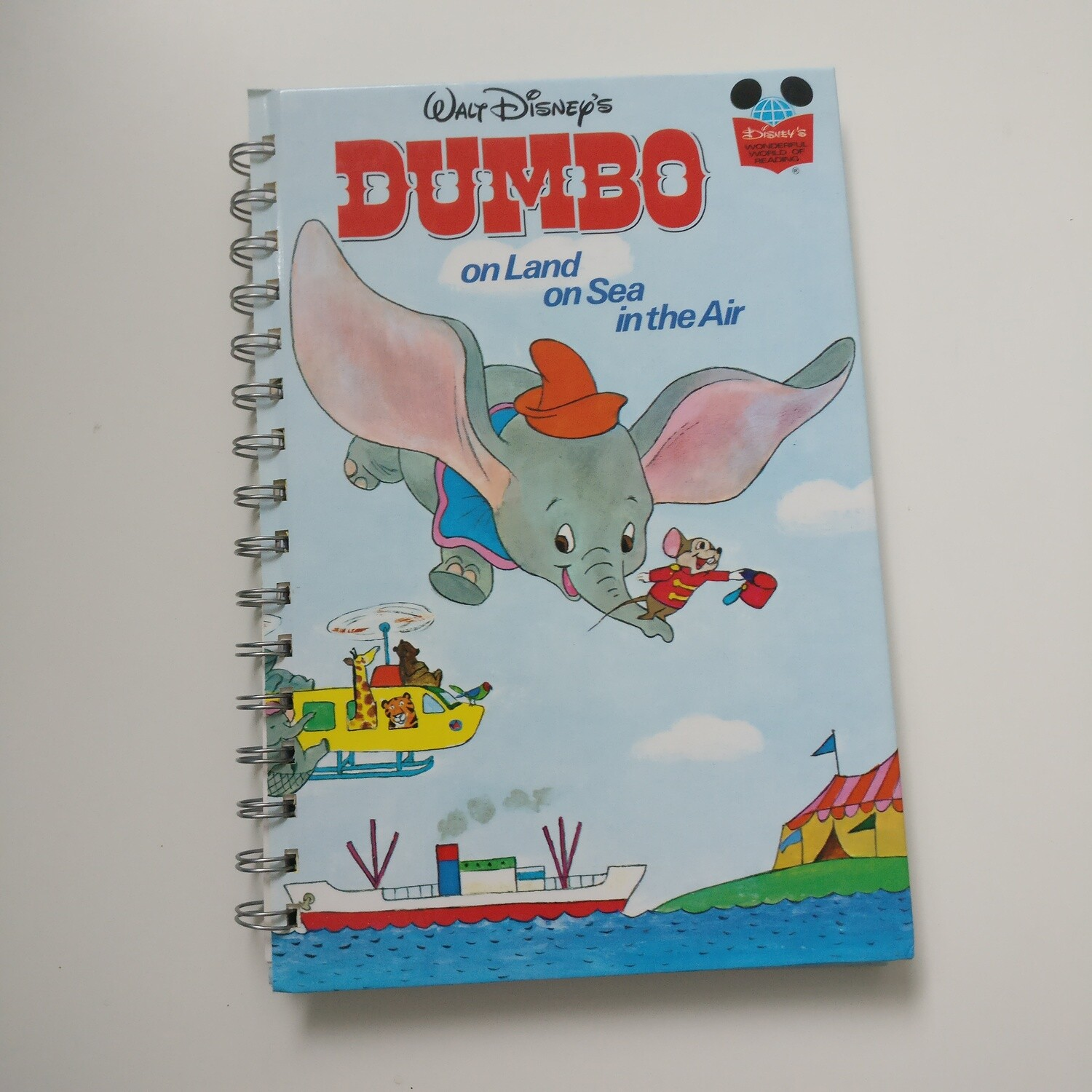 Dumbo Notebook - Land, Sea and Air