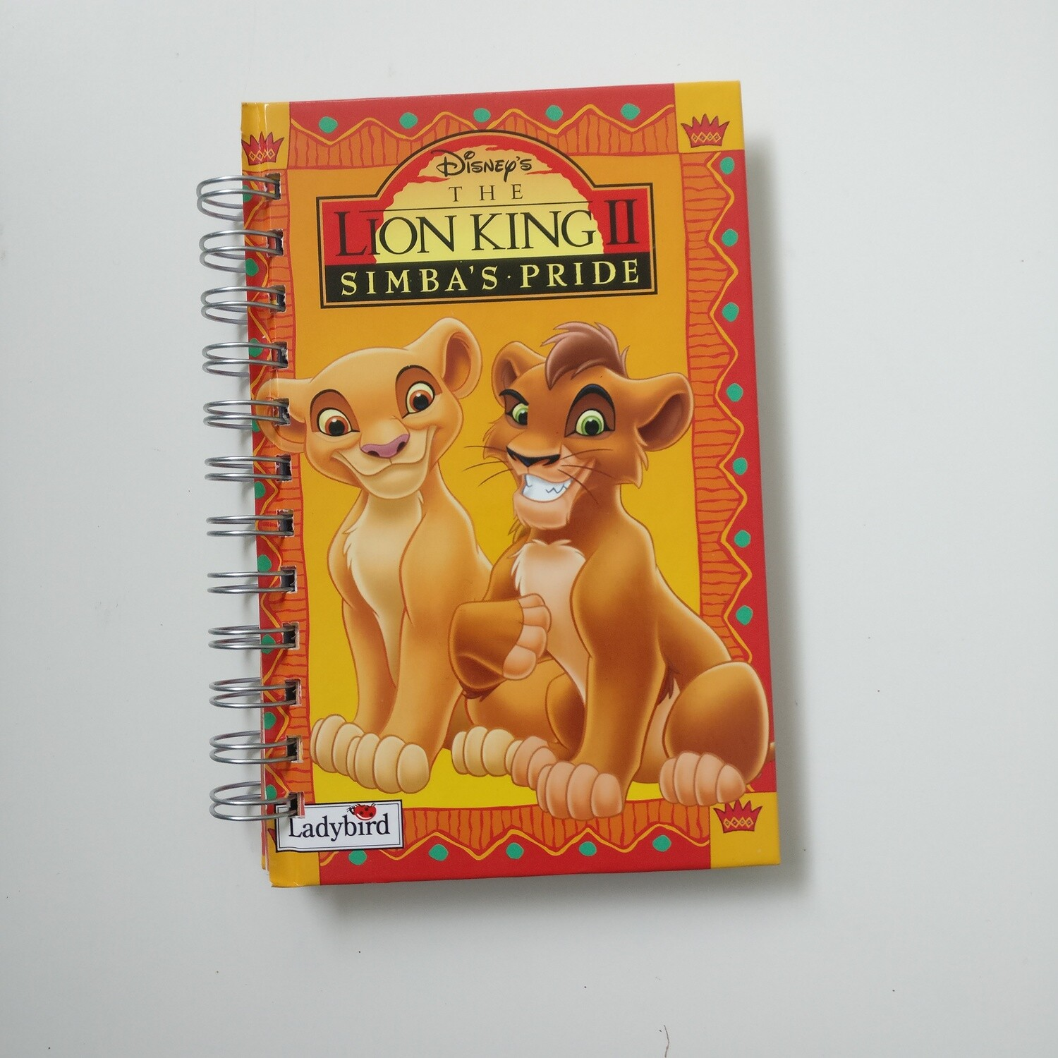 Lion King Notebook - READY TO SHIP : Diary, plain and lined
