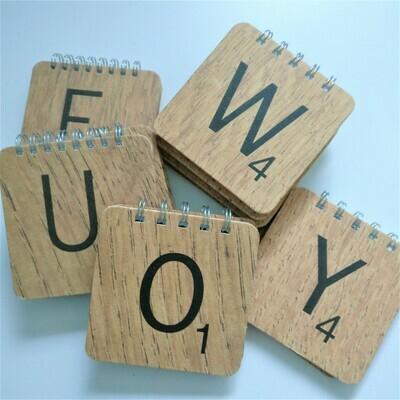 Scrabble Notepads