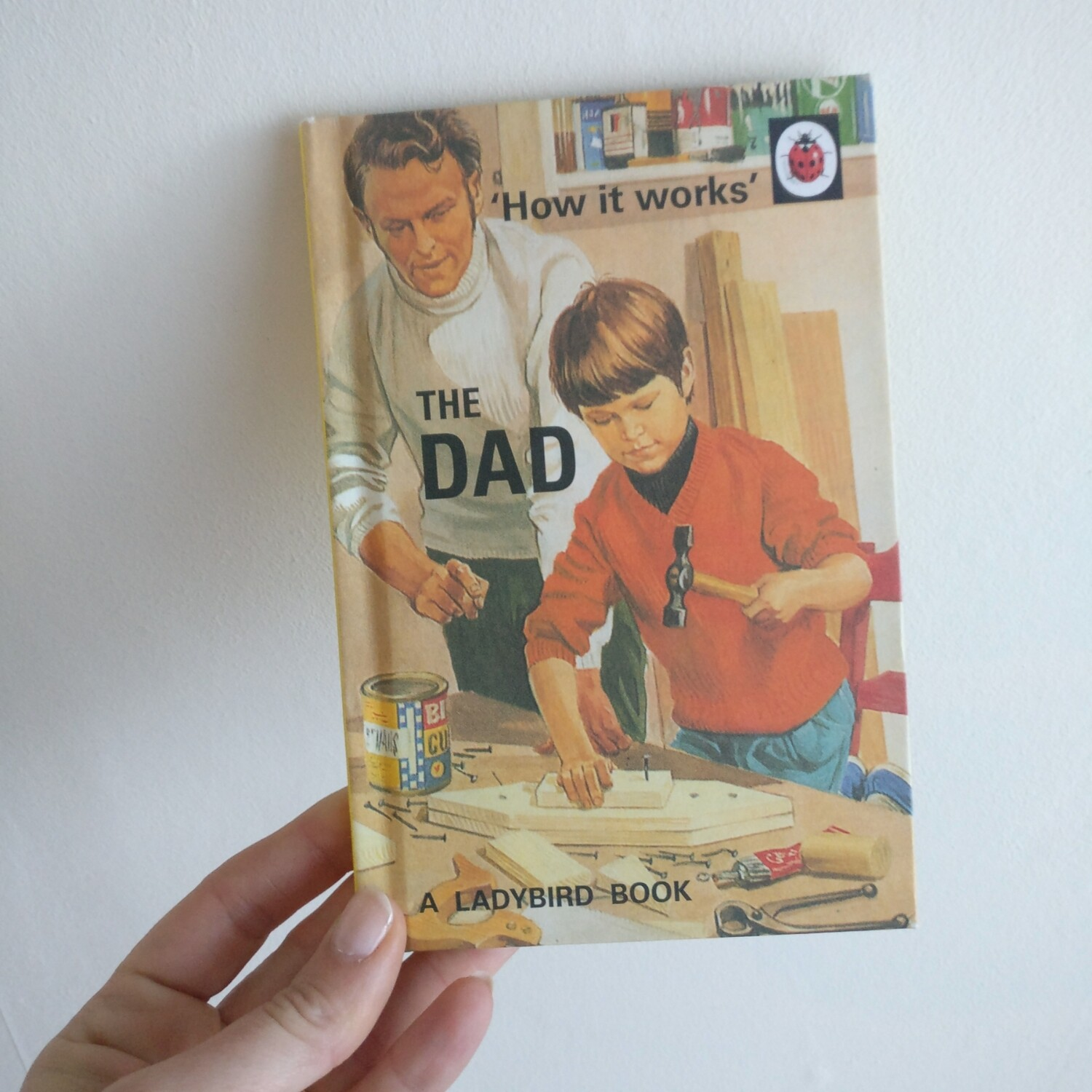 The Dad Notebook - Ladybird book