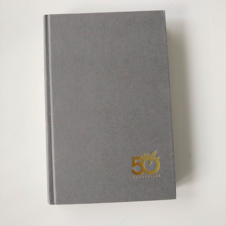 Cliff Richard 50 anniversary Notebook