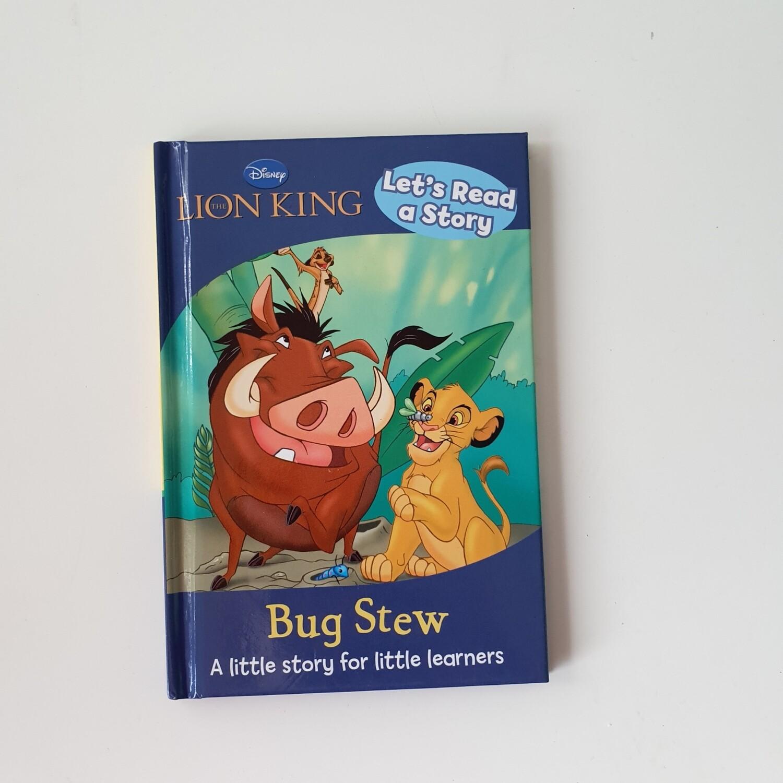 Lion King Bug Stew Notebook - Ladybird book