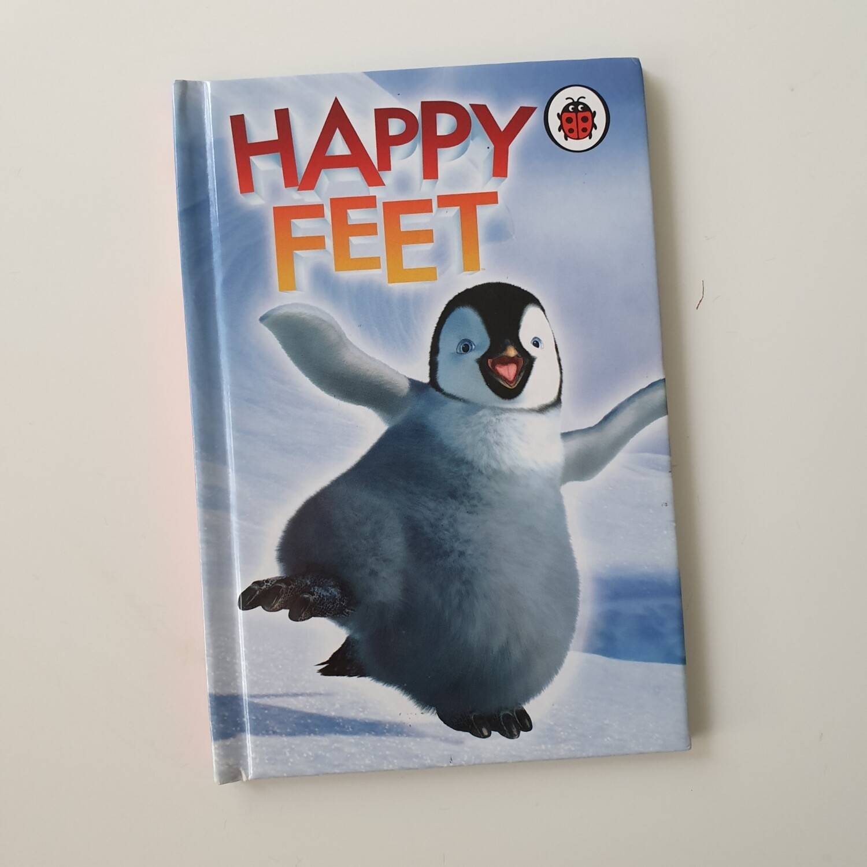 Happy Feet Notebook - Ladybird book Penguin