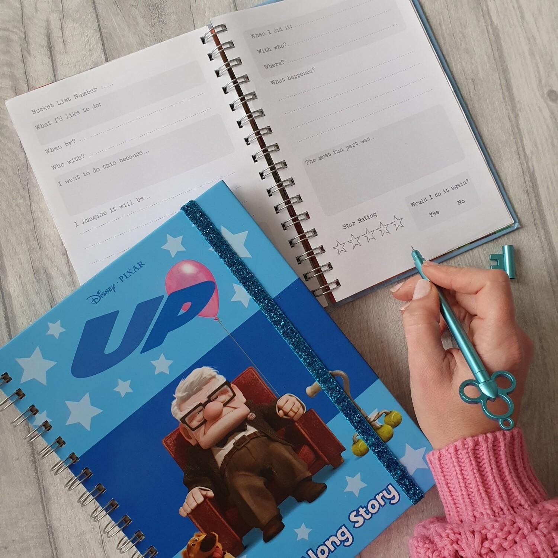 Up Notebook - Carl - no original pages