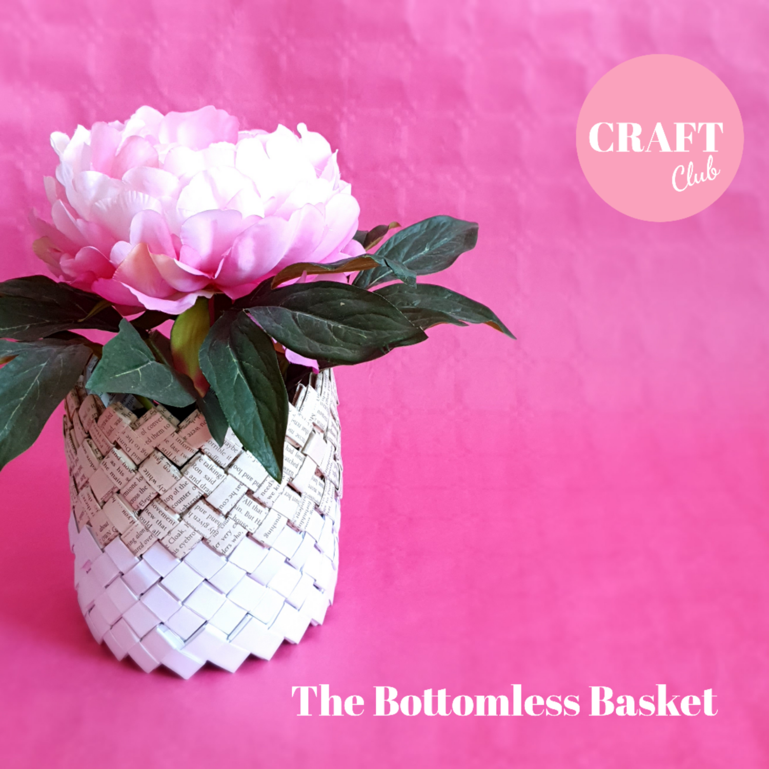 The Bottomless Basket - MAY CRAFT CLUB - free UK postage