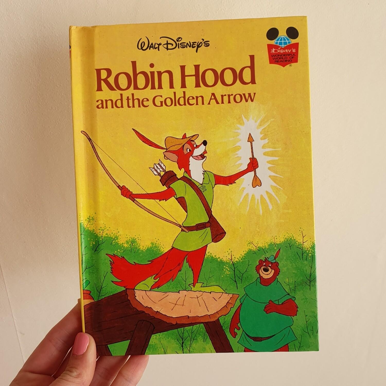 Robin Hood Notebook - golden arrow