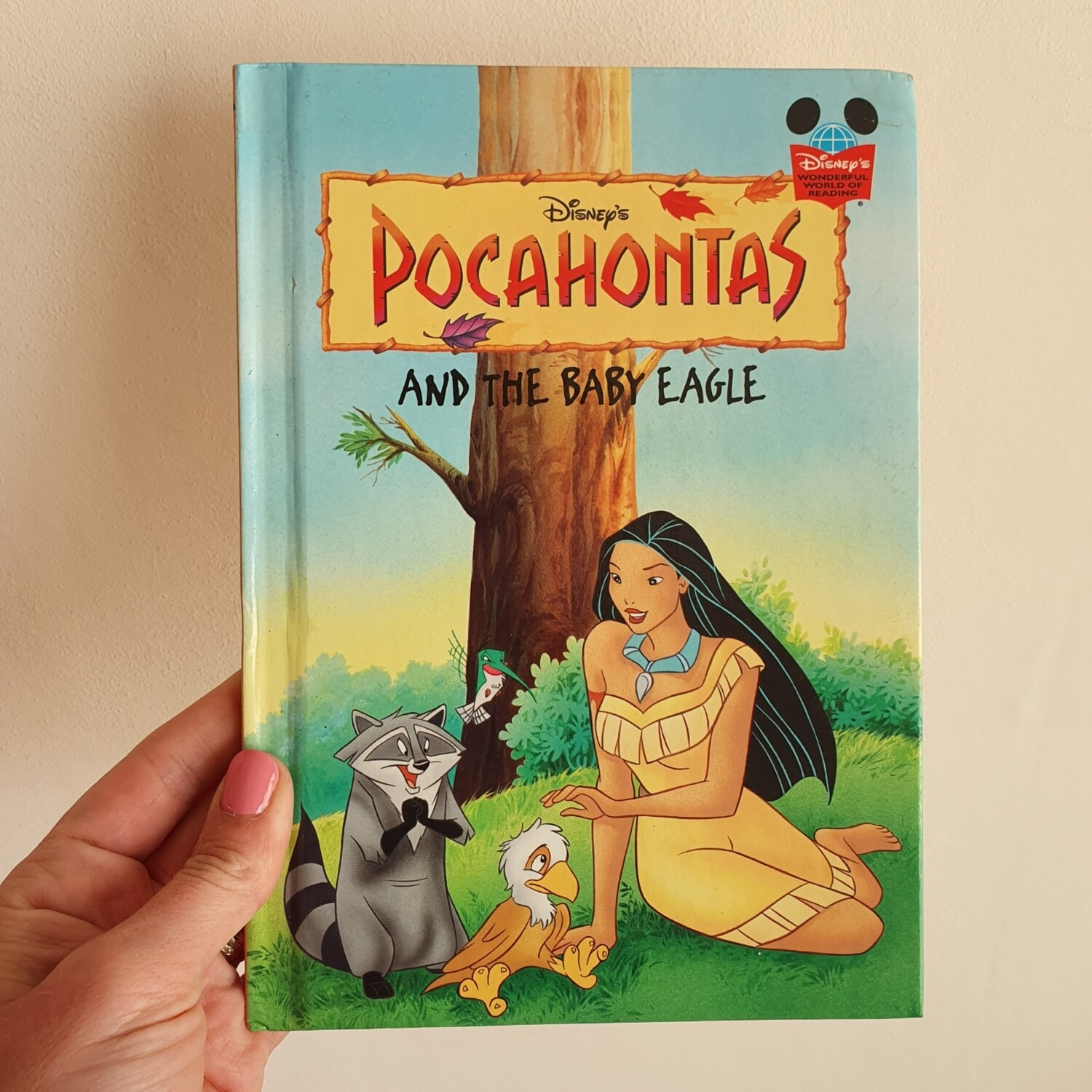 Pocahontas and the baby eagle Notebook