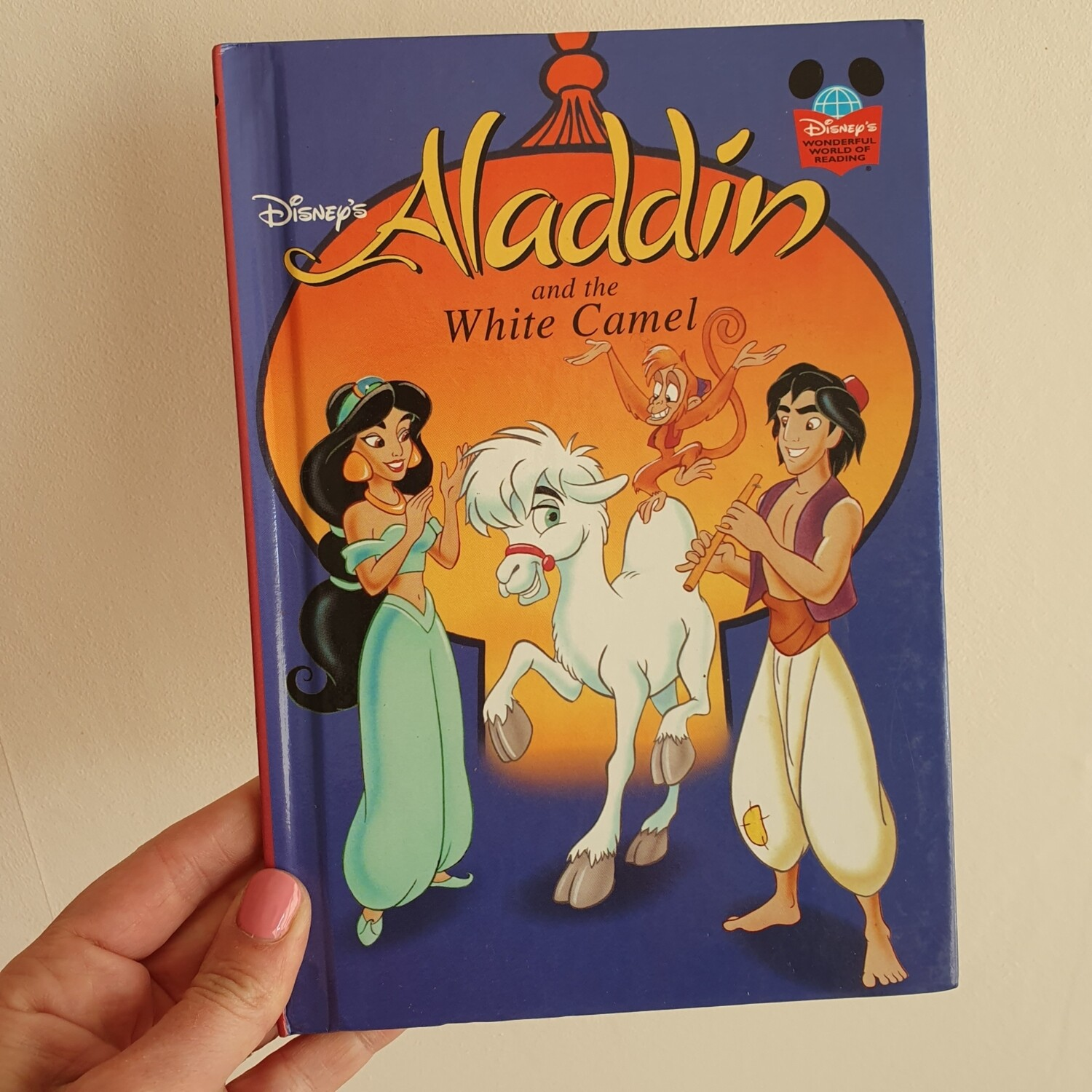 Aladdin and the white camel Notebook