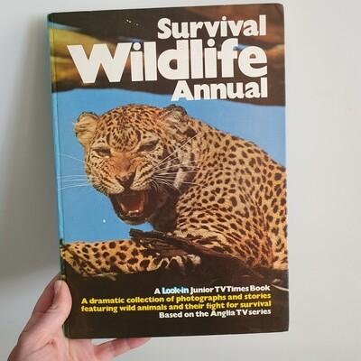 Survival Wildlife Annual Leopard Notebook - Tiger King