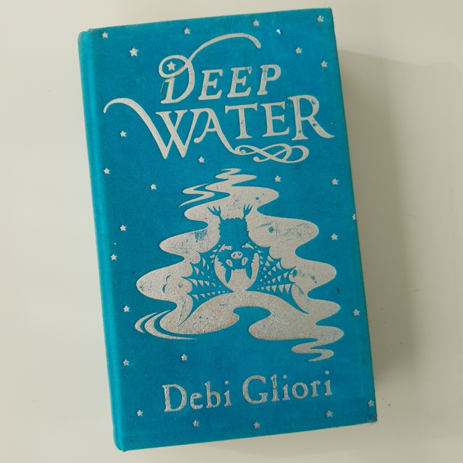 Deep Water by Debo Gliori Notebook - felt cover