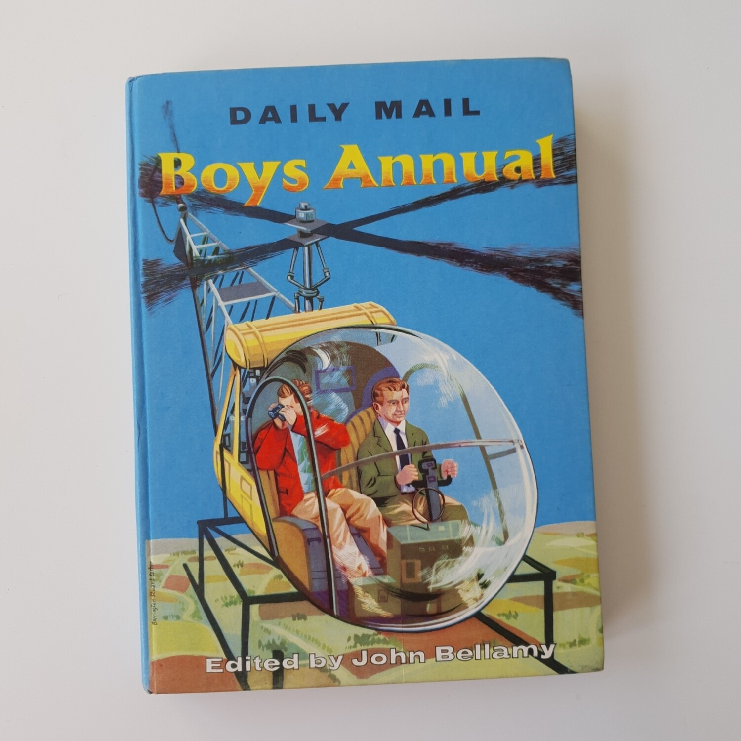 Boys Annual Notebook Helicopter