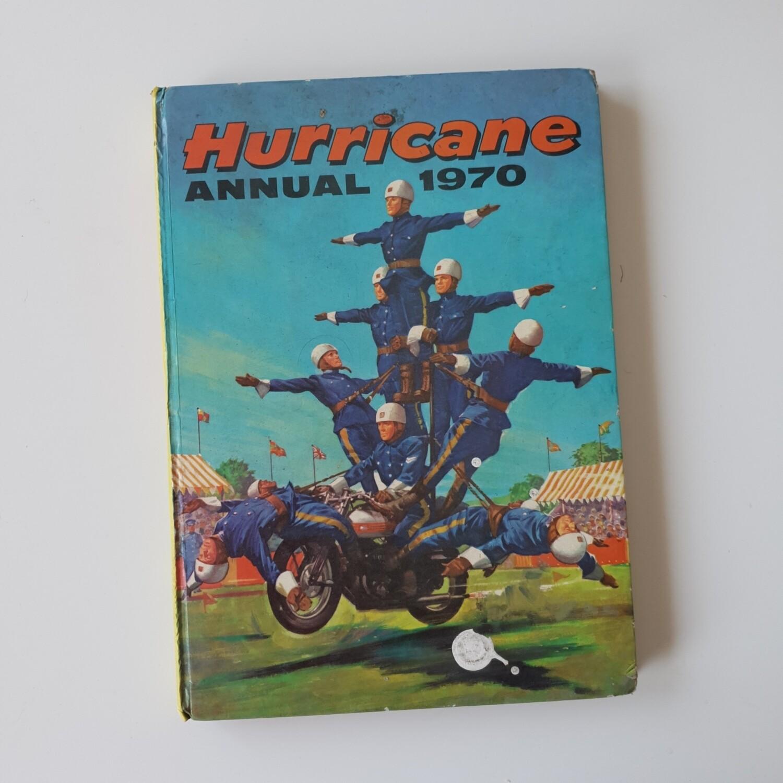 Hurricane Annual 1970 motorbike