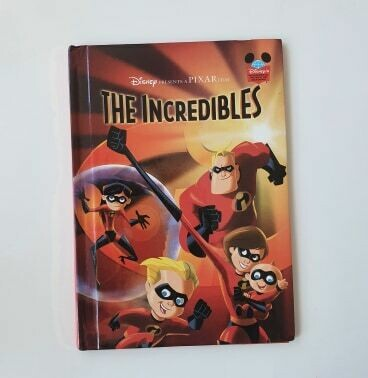 The Incredibles Notebook - No original book pages