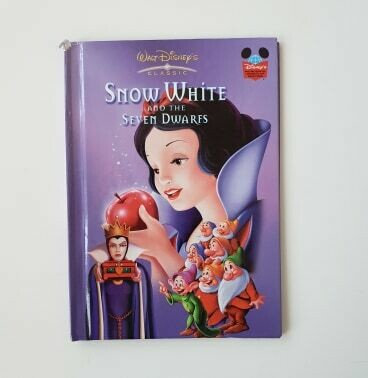 Snow White and the Seven Dwarfs Notebook - No original book pages