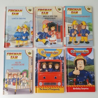 Fireman Sam - Choose from a selection of Vintage Ladybird Books