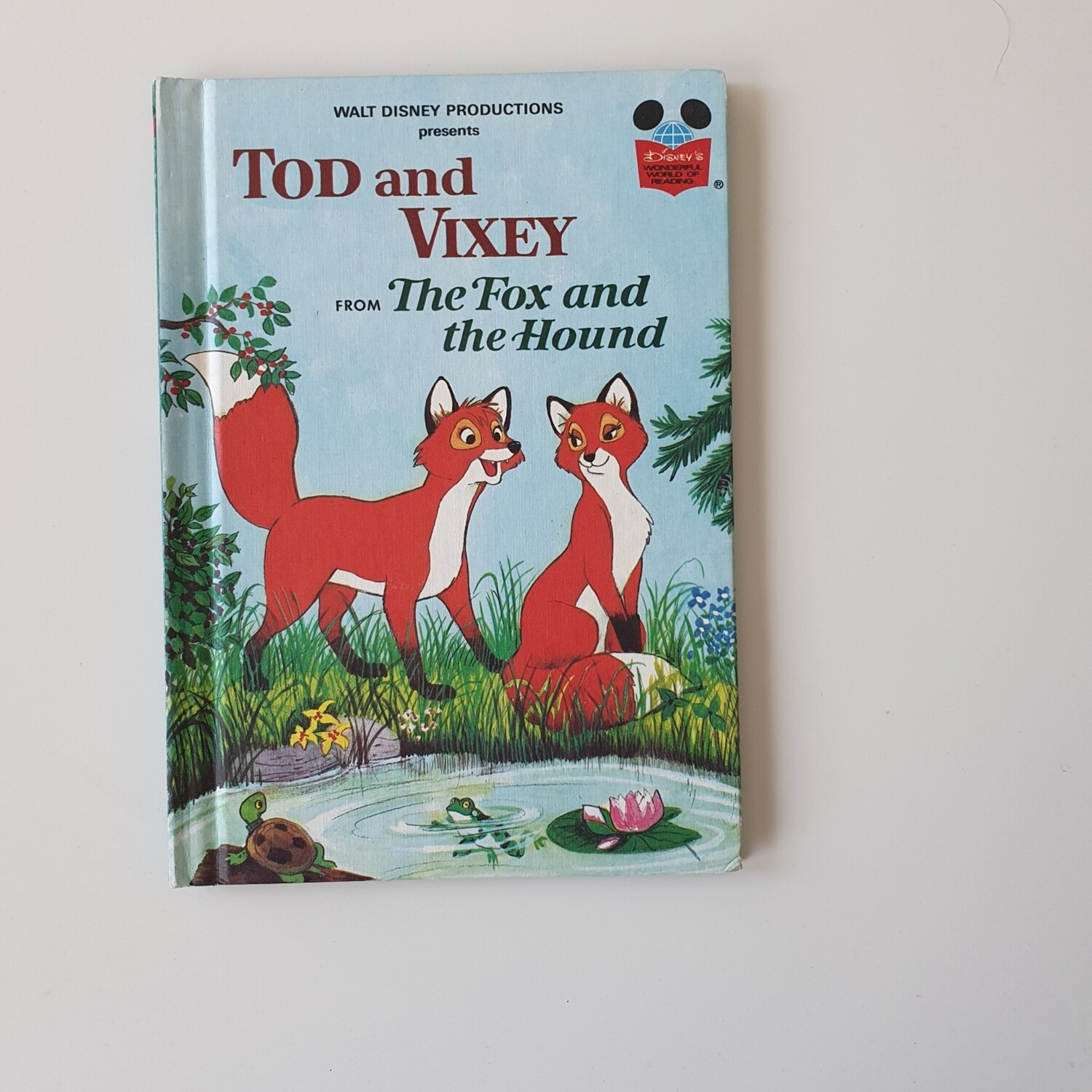 Tod and Vixey Notebook - Fox and the Hound
