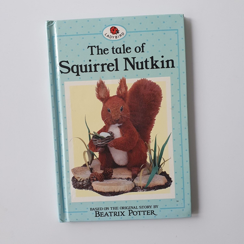 Squirrel Nutkin Notebook - Ladybird book, Beatrix Potter