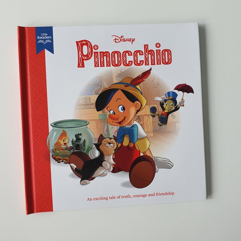 Pinocchio - no original book pages