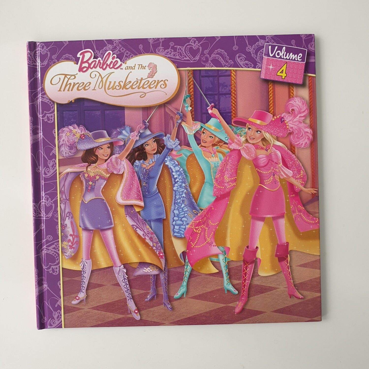 Barbie and the Three Musketeers Notebook - no original book pages