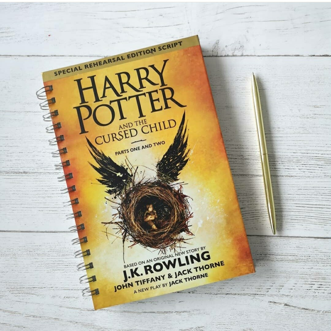 Harry Potter and the Cursed Child - made from a dust jacket