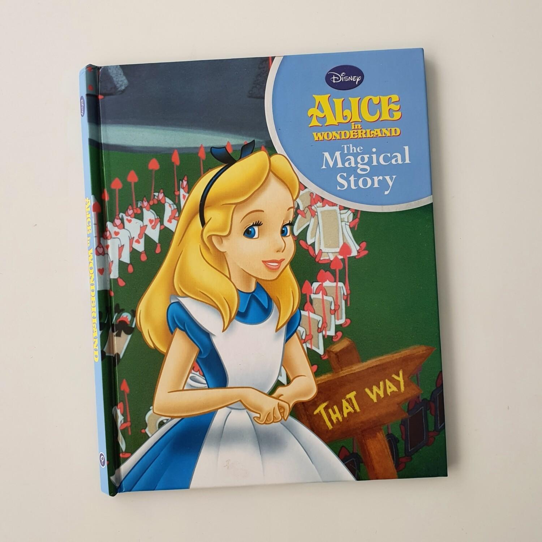 Alice in Wonderland Notebook - no original book pages