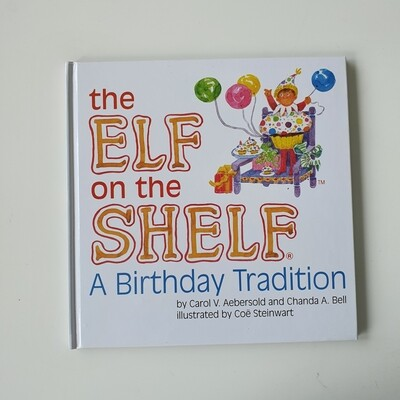 The Elf on Shelf - Birthday tradition - plain paper only