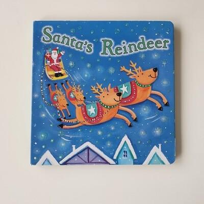 Santa's Reindeer - glitter cover - Christmas