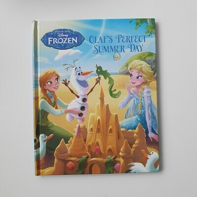 Frozen Olaf's Perfect Summer Day - no original book pages