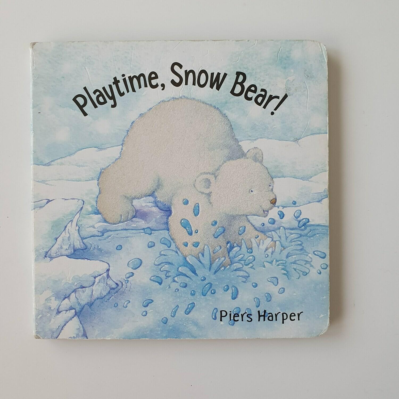 Playtime, Snow Bear! - Christmas, polar bear