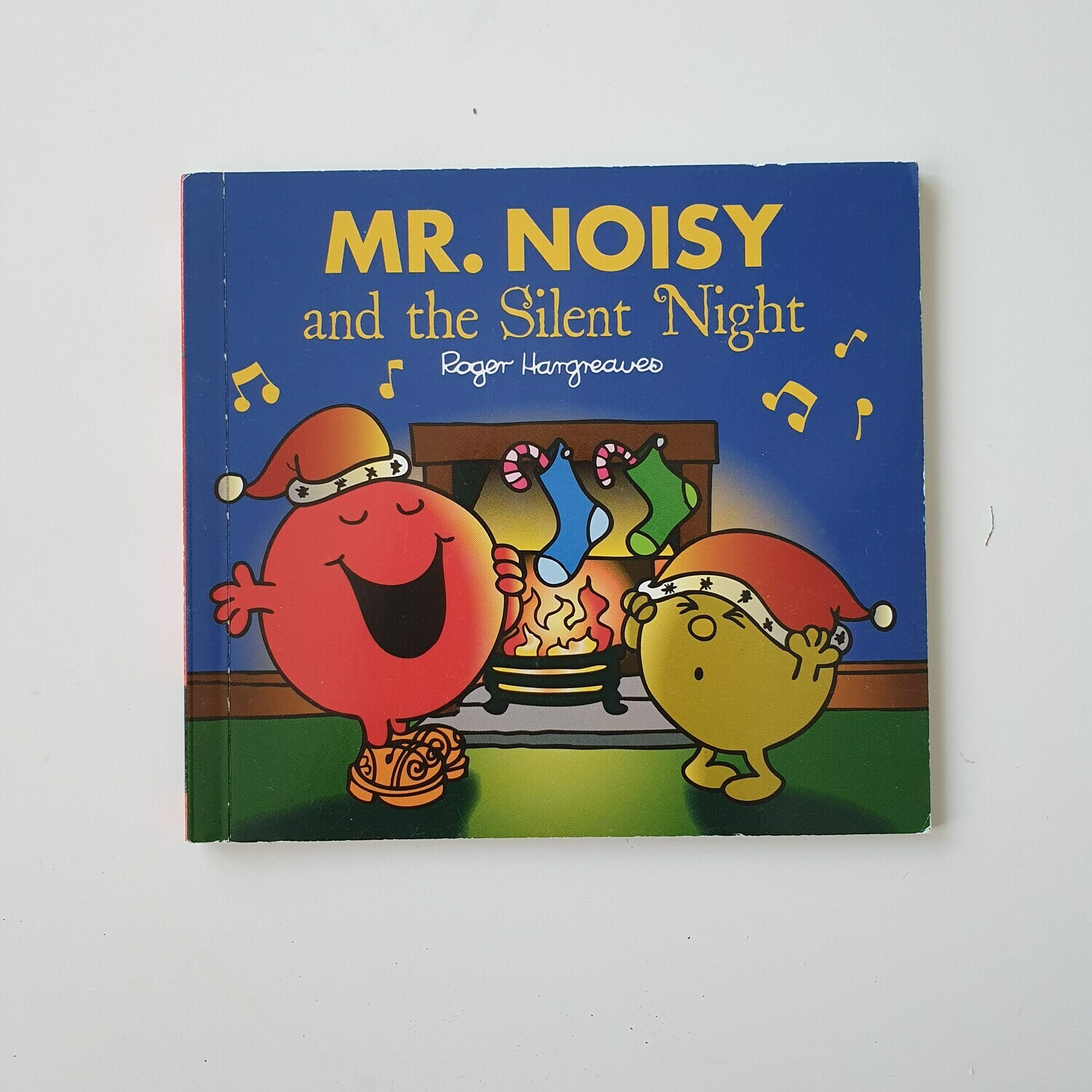 Mr Men Christmas selection made from paperback books - includes metal book corners