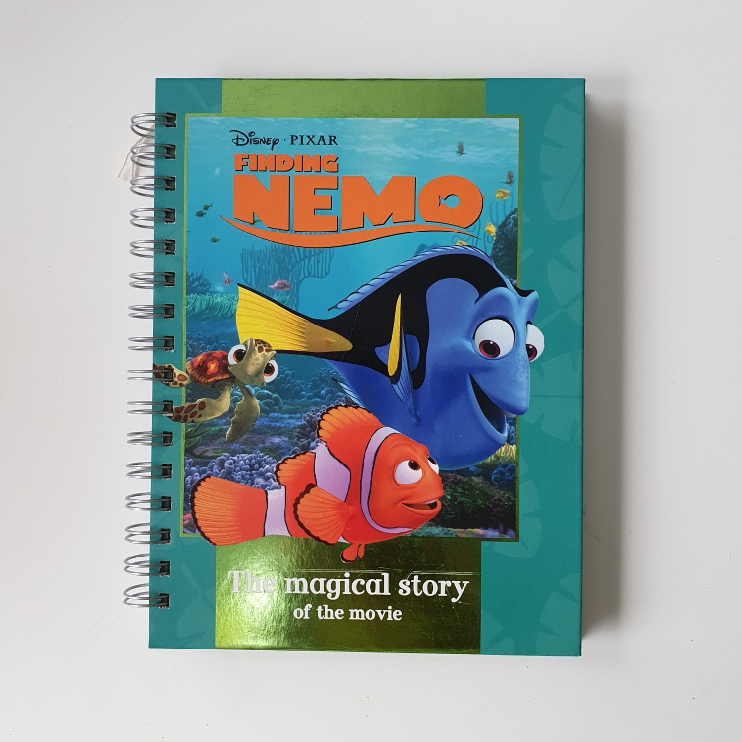 Finding Nemo - Grid / Bullet Journal Notebook - READY TO SHIP