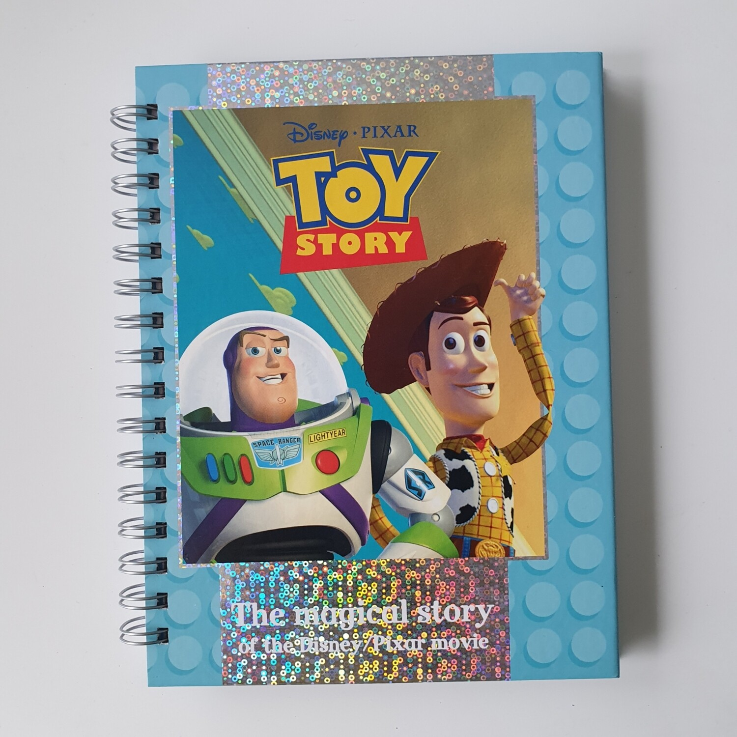 Toy Story Plain Paper Notebook - READY TO SHIP