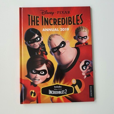 The Incredibles 2019 Annual A4 notebook