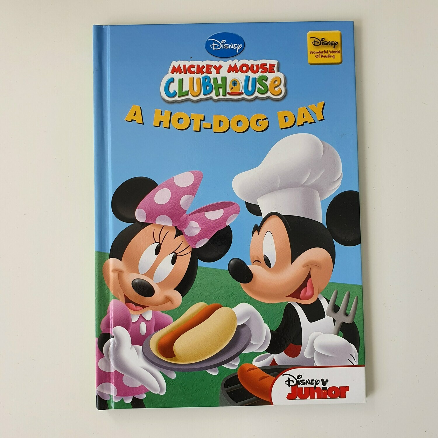 Minnie Mouse, Mickey Mouse Hot Dog Day Notebook Chef