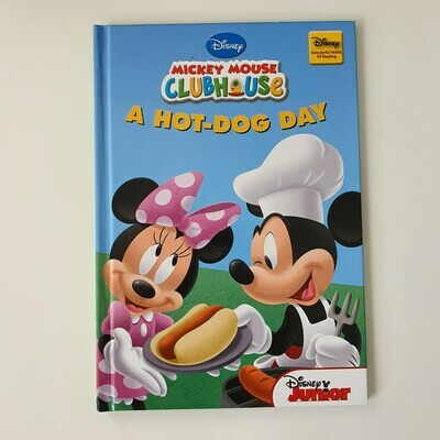 Minnie Mouse, Mickey Mouse Hot Dog Day Notebook