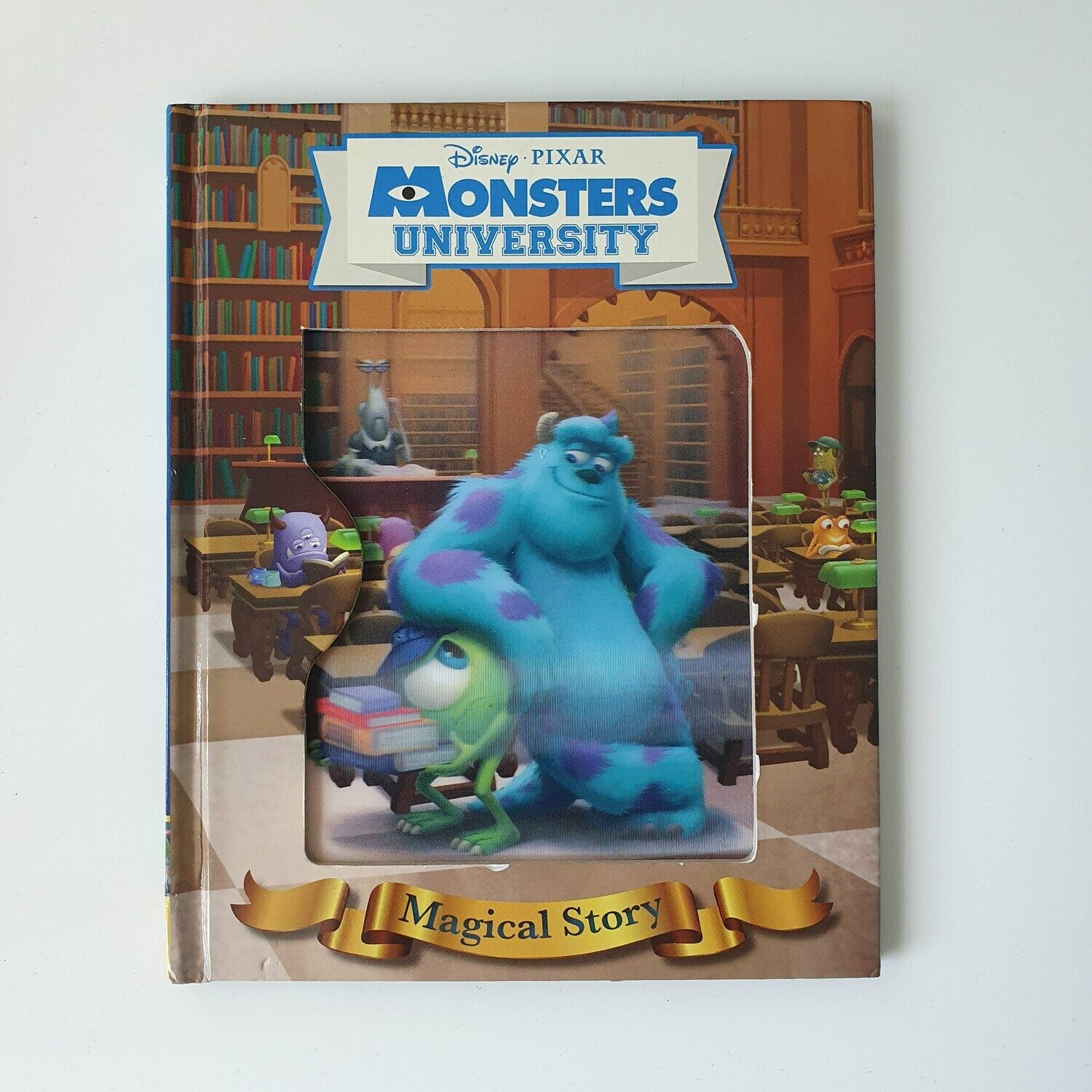 Monsters University Notebook - Lenticular Print - no original pages