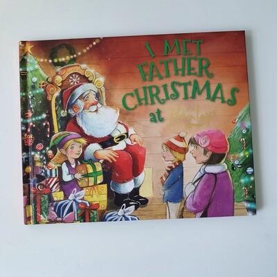 I met Father Christmas at Hamleys